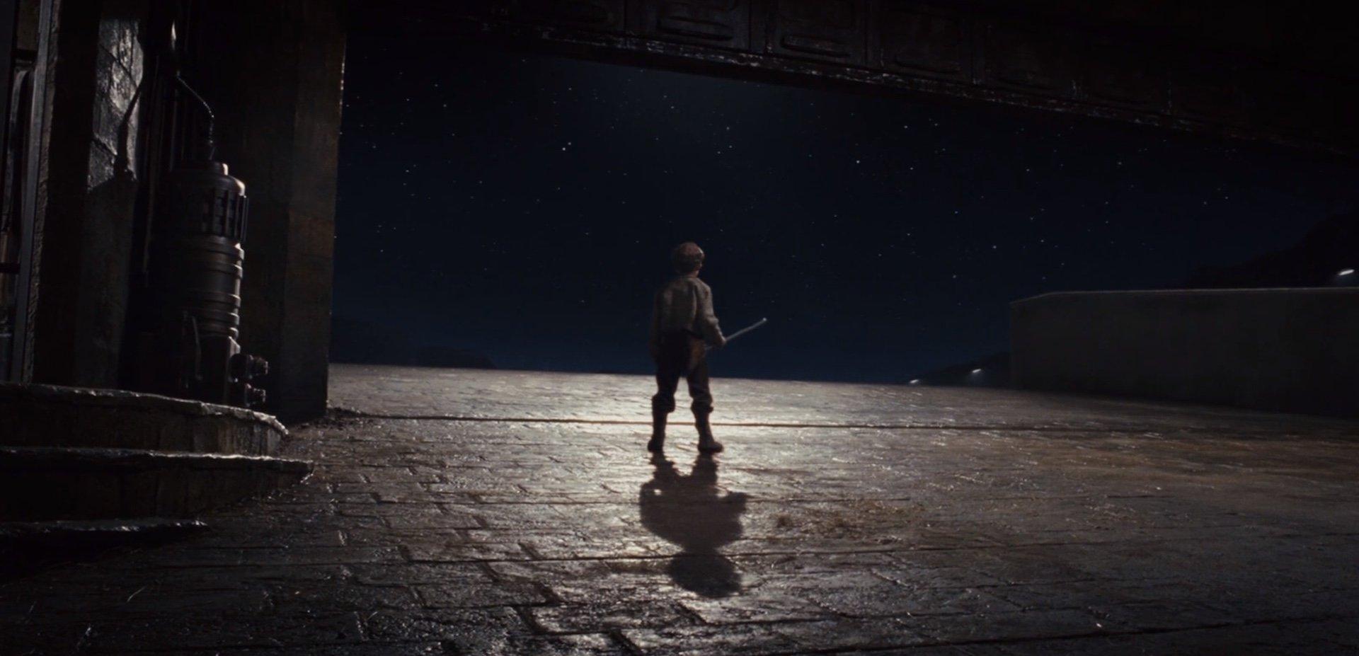 Gli ultimi Jedi Broom Boy