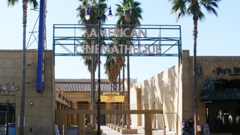 Netflix sta trattando l'acquisto dell'Egyptian Theatre di Los Angeles