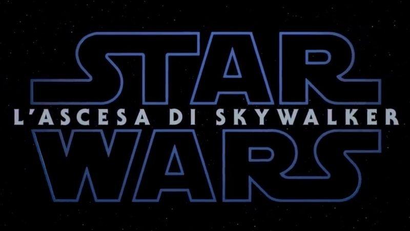 Star Wars: L'ascesa di Skywalker: titolo e il trailer in italiano di Episodio IX