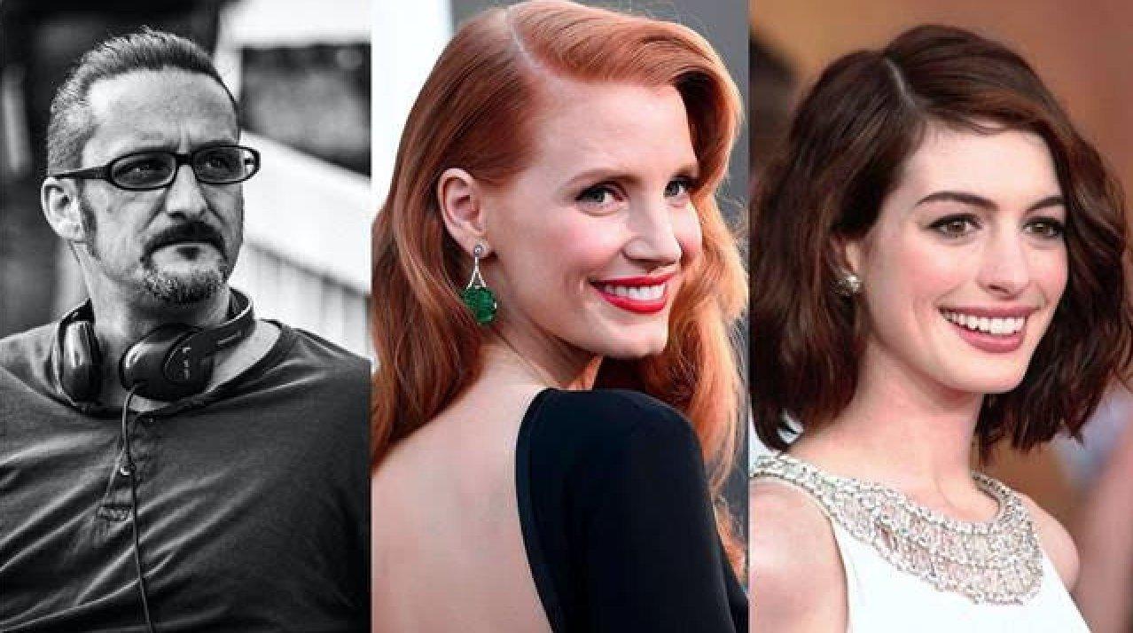 Doppio sospetto: Jessica Chastain e Anne Hathaway star del remake