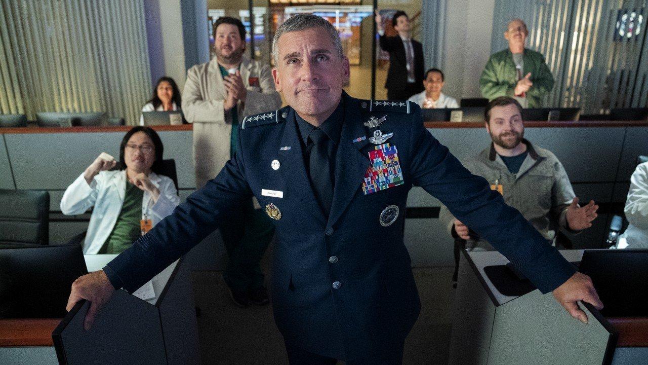 Space Force: il teaser ufficiale della serie Netflix con Steve Carell