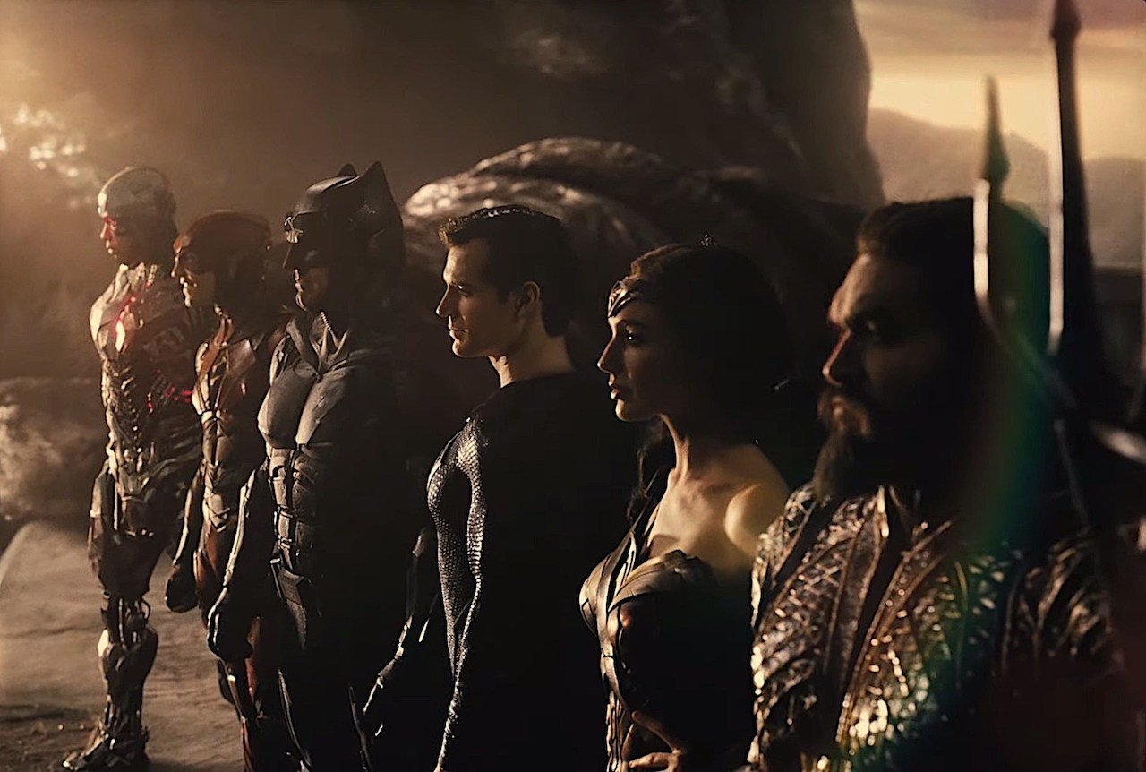 Justice League: il trailer della Snyder Cut presentato al DC FanDome