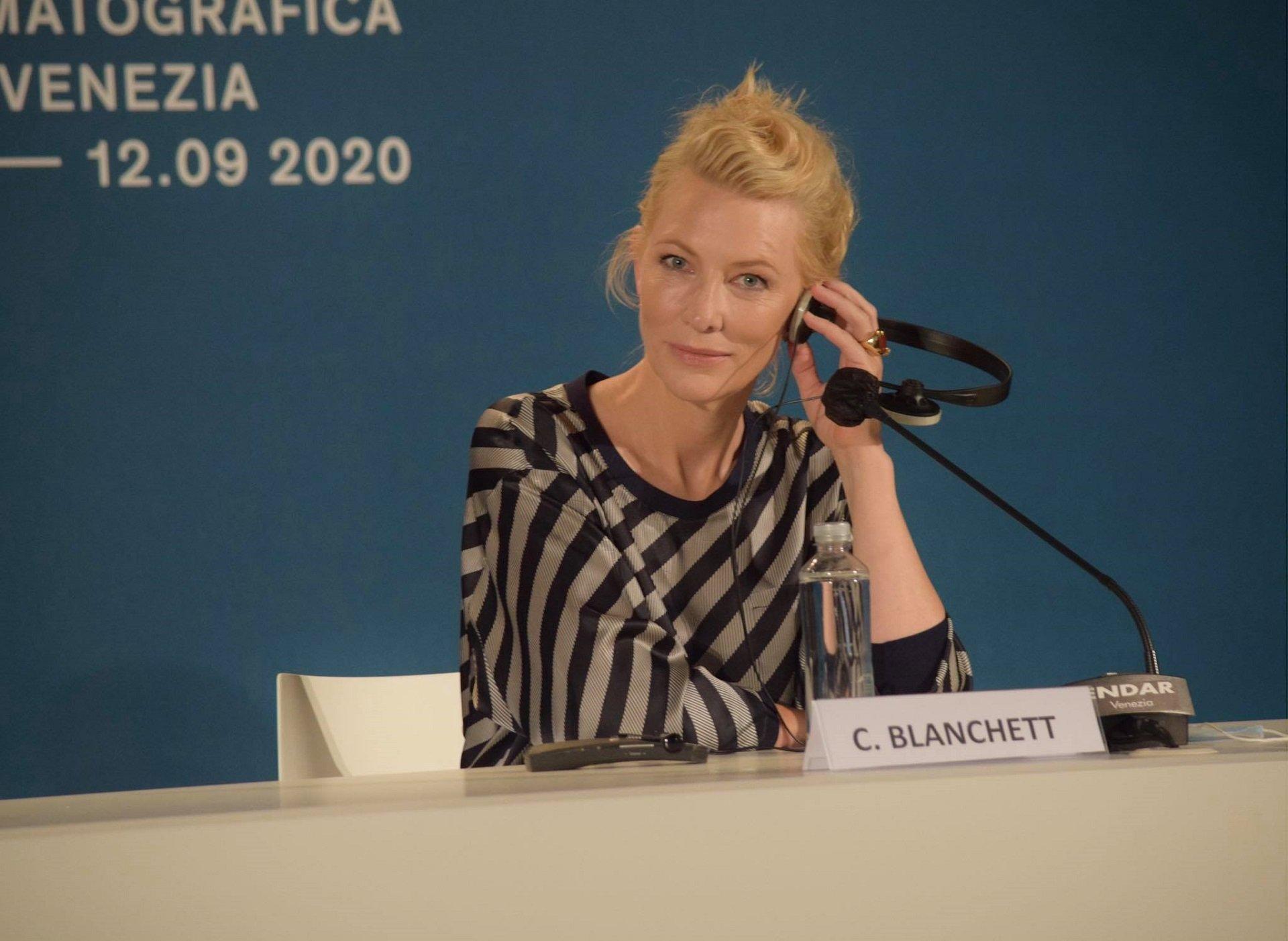 """Venezia 77, Cate Blanchett: """"Dobbiamo essere coraggiosi"""""""