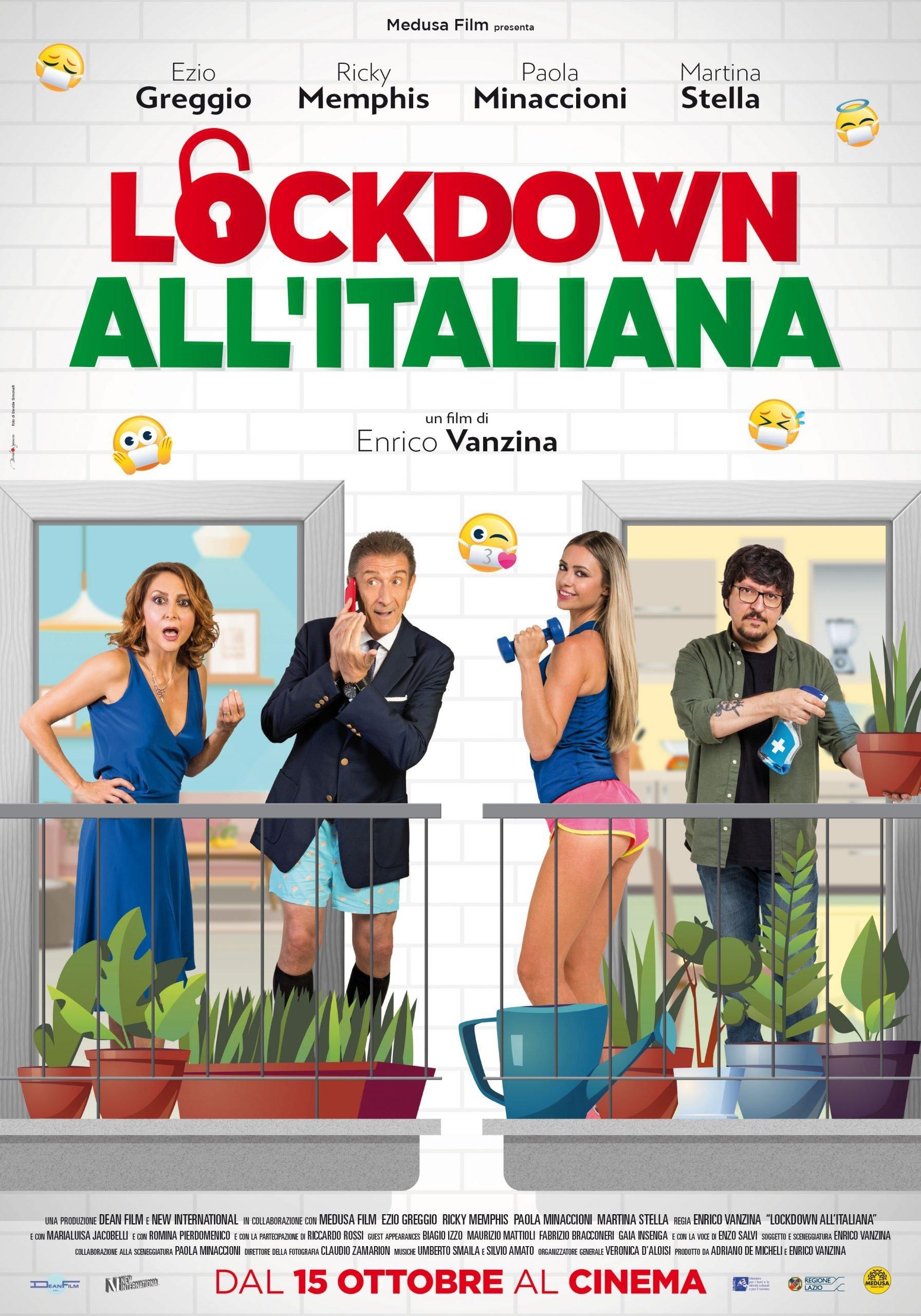 Lockdown all'italiana poster
