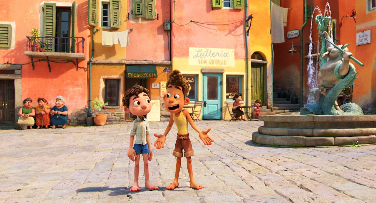 Luca: il poster del film Pixar diretto da Enrico Casarosa