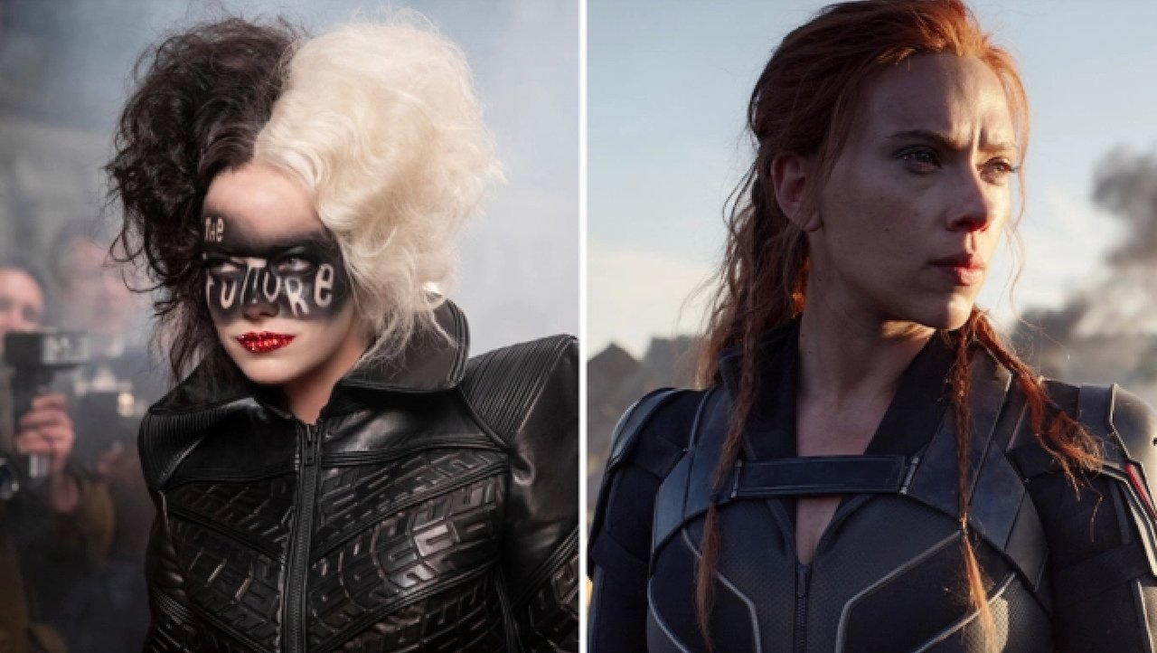 Black Widow e Crudelia usciranno in contemporanea in sala e su Disney+
