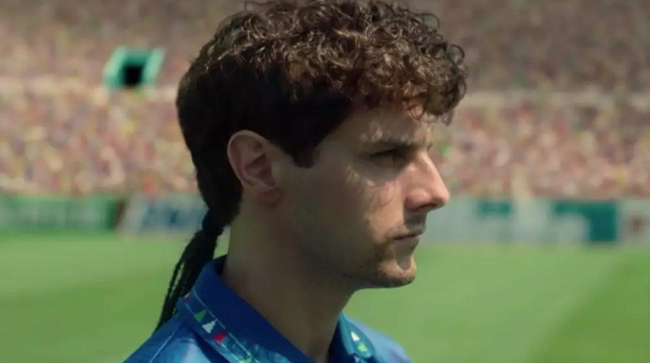 Il Divin Codino: il trailer del film Netflix su Roberto Baggio
