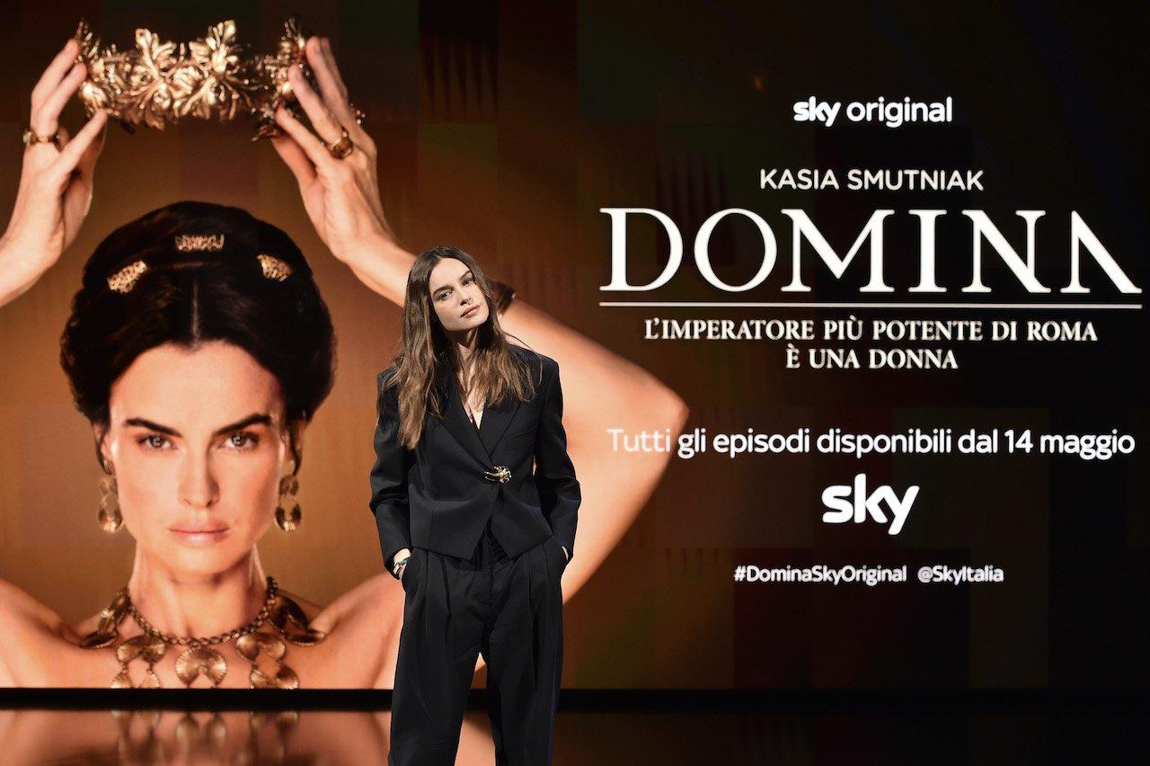 Domina: Kasia Smutniak presenta la nuova serie Sky Original